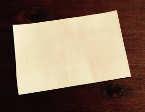 This is an innocuous looking piece of paper. Folded in half. What you can't see, on the inside, is the result of my HIV test. It's my business. It's Teri's business. It's my doctors' business. That's about it.