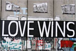 Of course love wins. How could it not?
