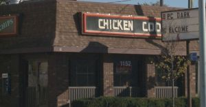 Seriously, this restaurant is such a marker for pretty much everywhere crime and poverty happens in this city. And I refuse to not drive by it because I'm afraid. Crime happens in the locus of every Chicken Coop not because black people are criminals but because every Chicken Coop is ensconced in an entrenchment of poverty, and those of us who have always had enough to eat have no idea how hard it is to climb out of poverty.