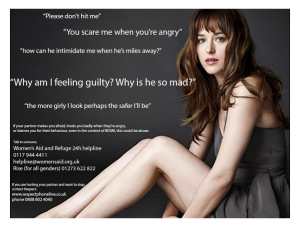 It really is entirely too much fifty shades of rape. Source: Women's Aid and Refuge 24H Helpline