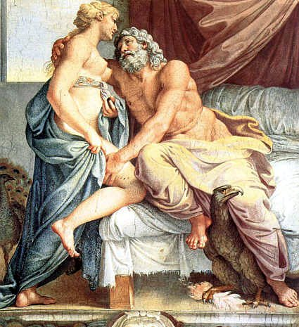 Jupiter and Juno by Annibale Carracci